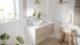 7 Ideas de decoración para aprovechar un baño pequeño