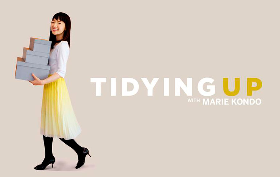 Logo serie Tidying Up with Marie Kondo
