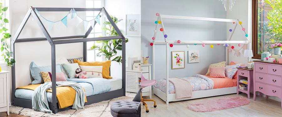 Camas infantiles para soñar y jugar