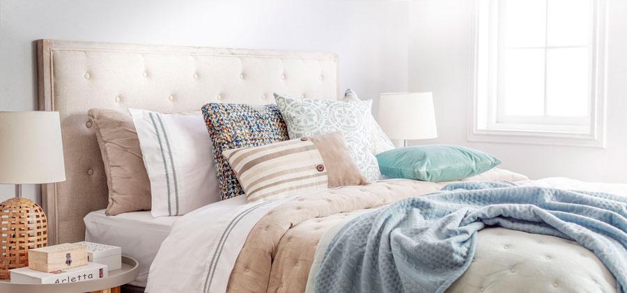 textiles suaves para dormitorio antiestrés