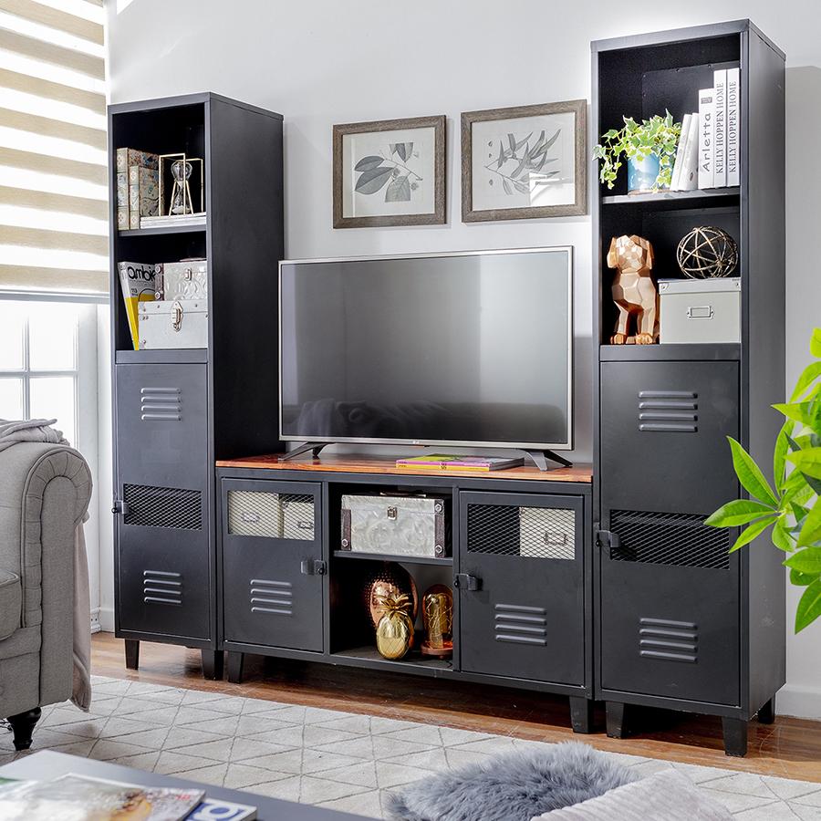 Momento Netflix: mueble de televisor para sala de estar