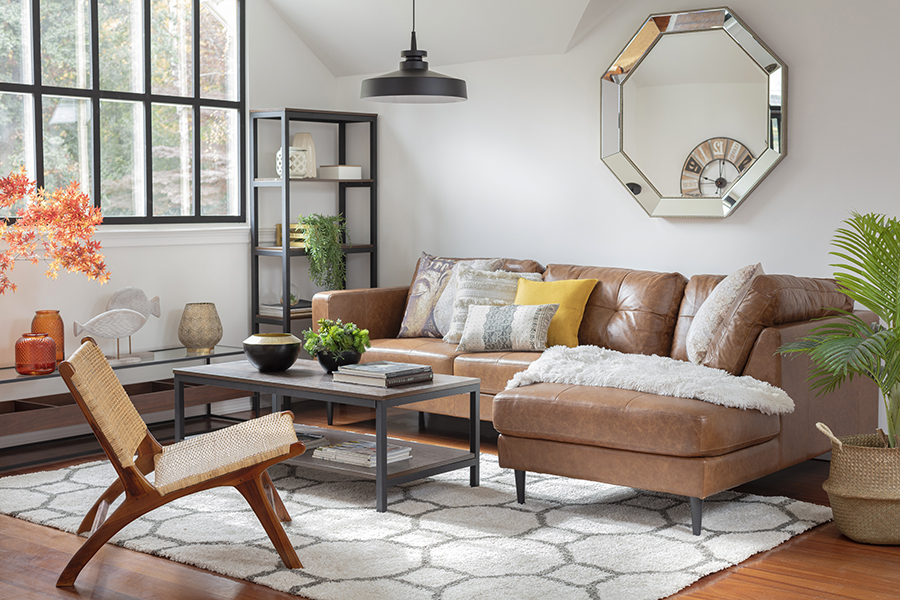 Momento Netflix: sillón seccional para sala de estar