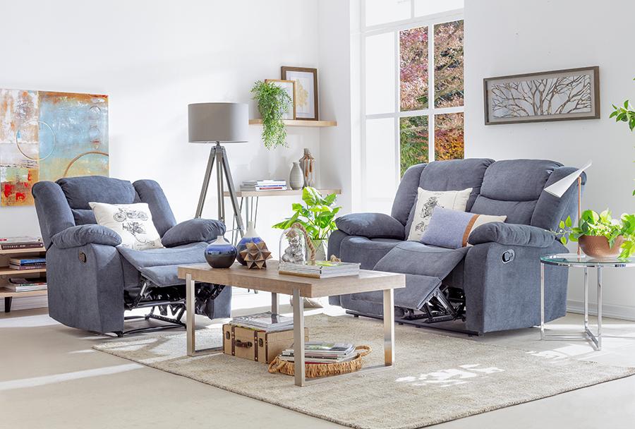 Momento Netflix: sillones reclinables para sala de estar