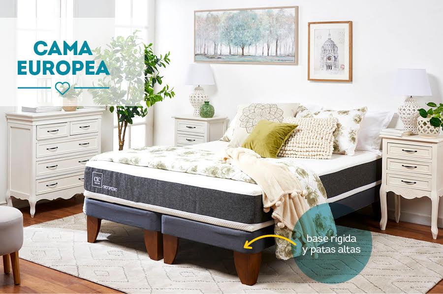 diferencia entre cama europea y americana