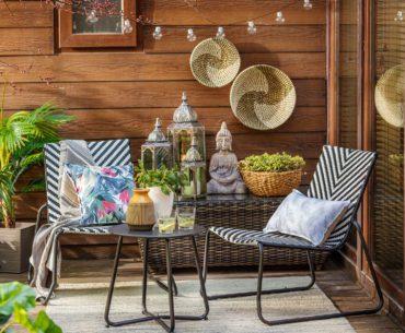 Muebles perfectos para terrazas o balcones pequeños