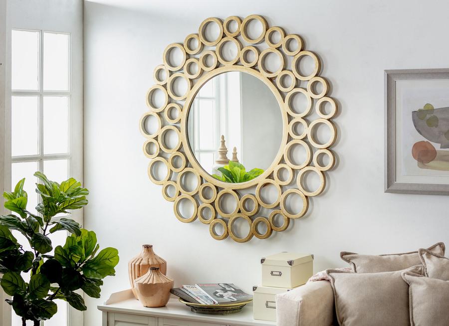 decoracion de un departamento espejo