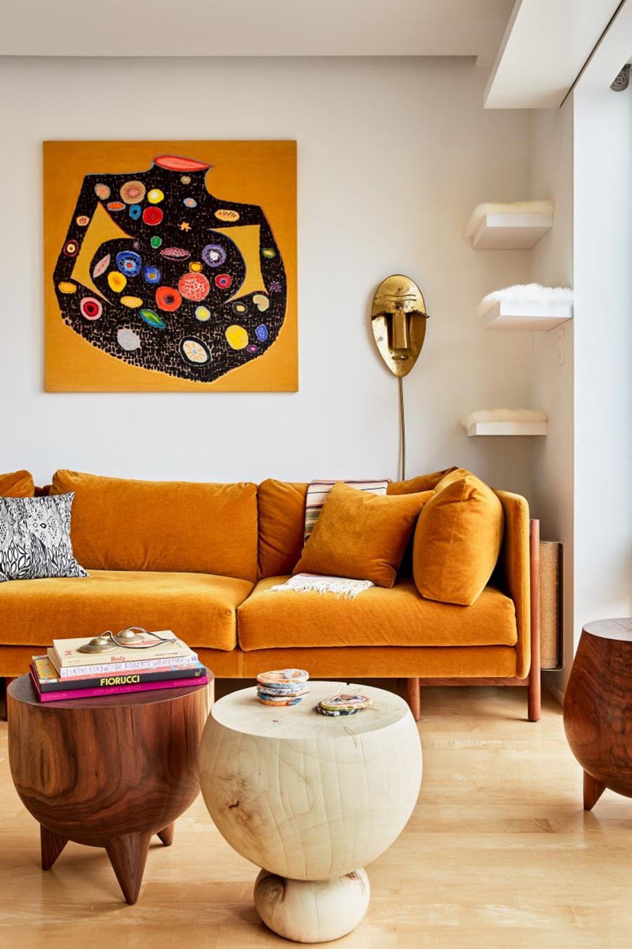 Decoración de interiores tonos beige