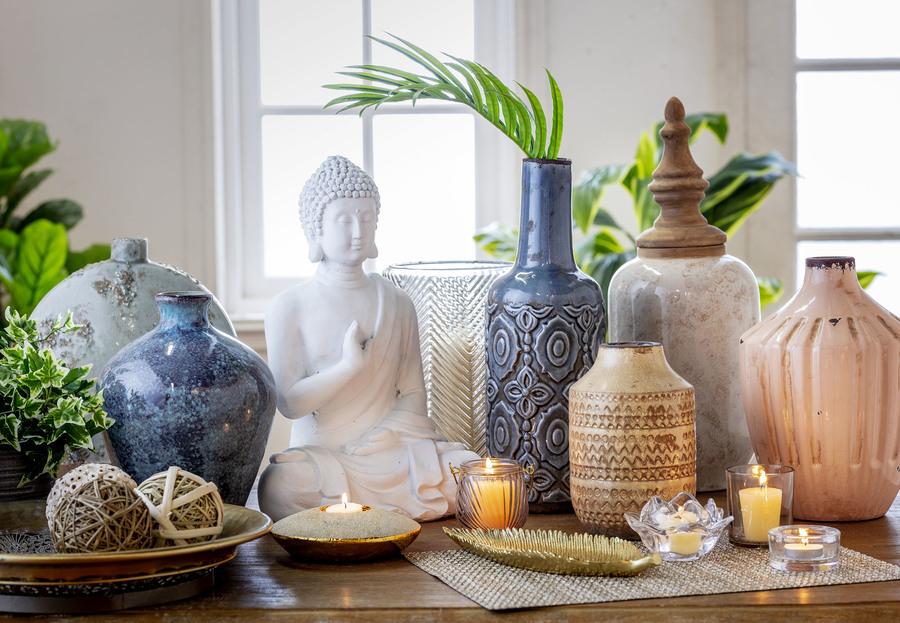 decorar tu casa adornos yoga