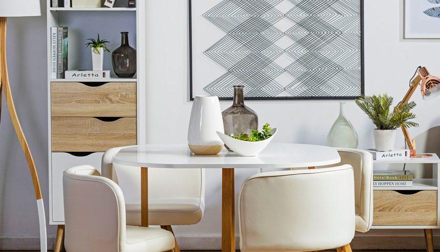 Organiza con estilo el comedor: muebles secundarios