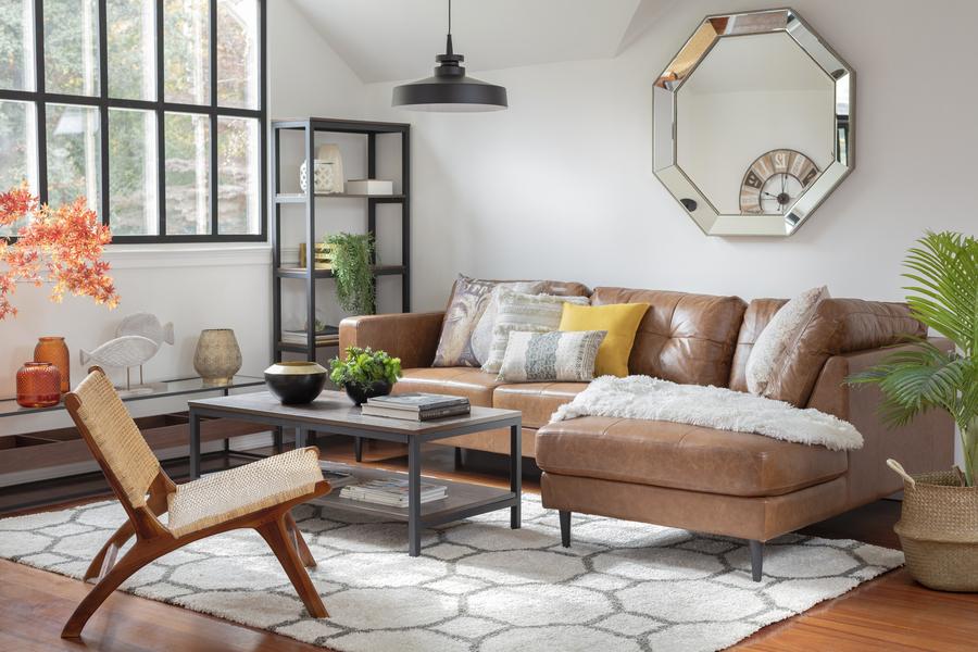 muebles living sofá en L