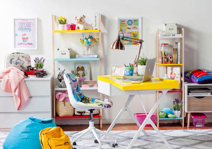 escritorio dormitorio niños