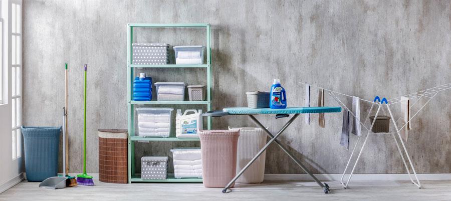 Elementos para limpiar casa