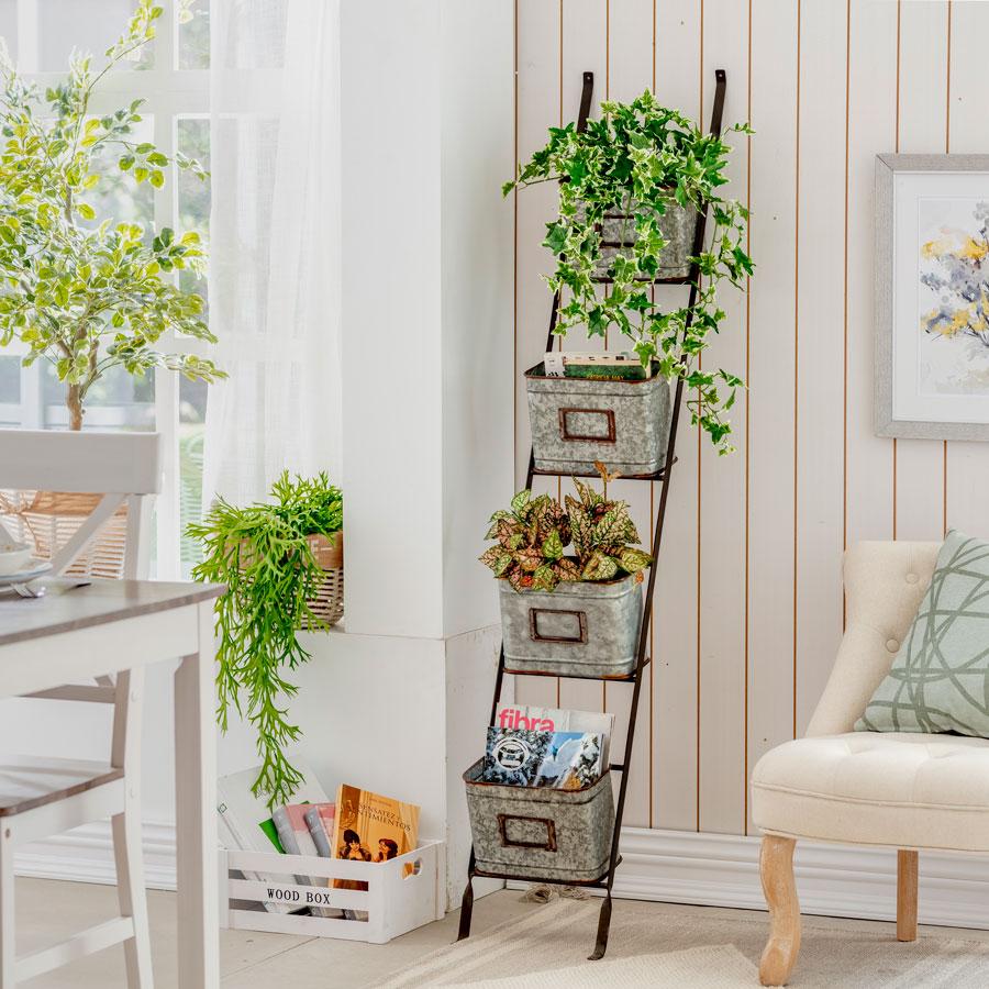 jardinera para plantas de interior
