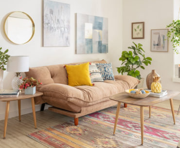 10 trucos de decoración para un living ordenado