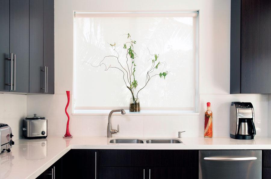 cortinas enrollables para cocina