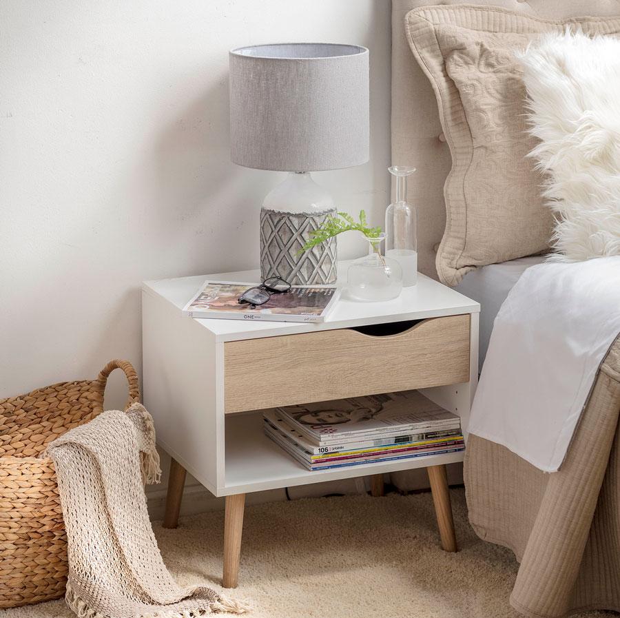 tonos beige para dormitorios pequeños