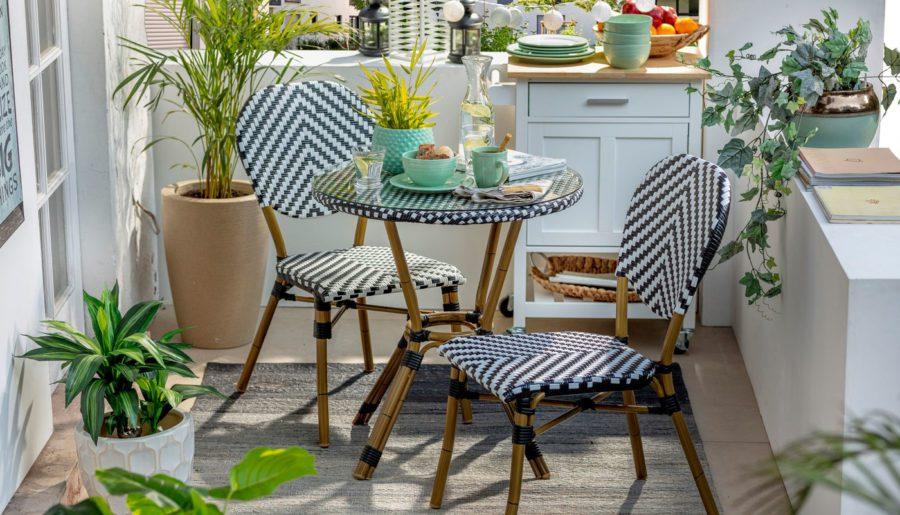 Decoración con estilo para un día de parrilla en tu balcón o terraza