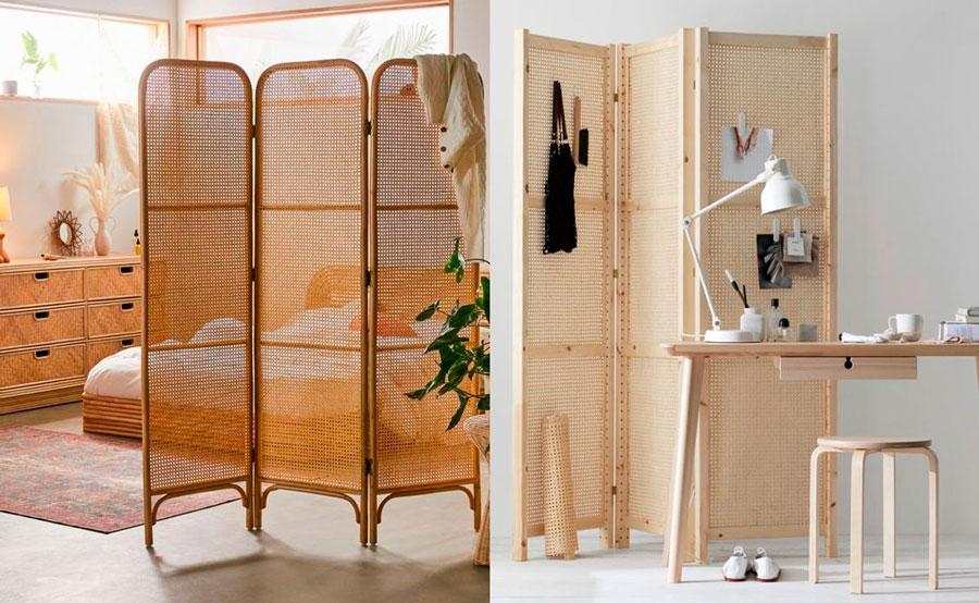 muebles modernos - biombos de cannage