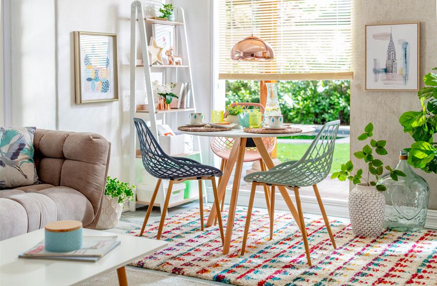 Renovación con poco presupuesto: alfombras