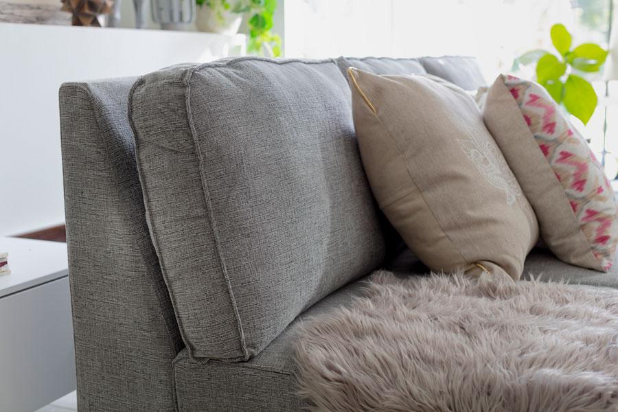 Guia para elegir un sofa, telas