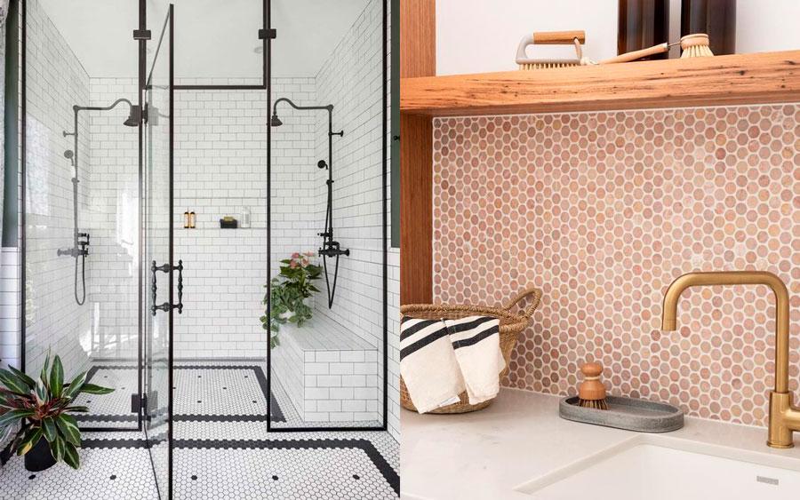 cerámica interior - muros y pisos de baño