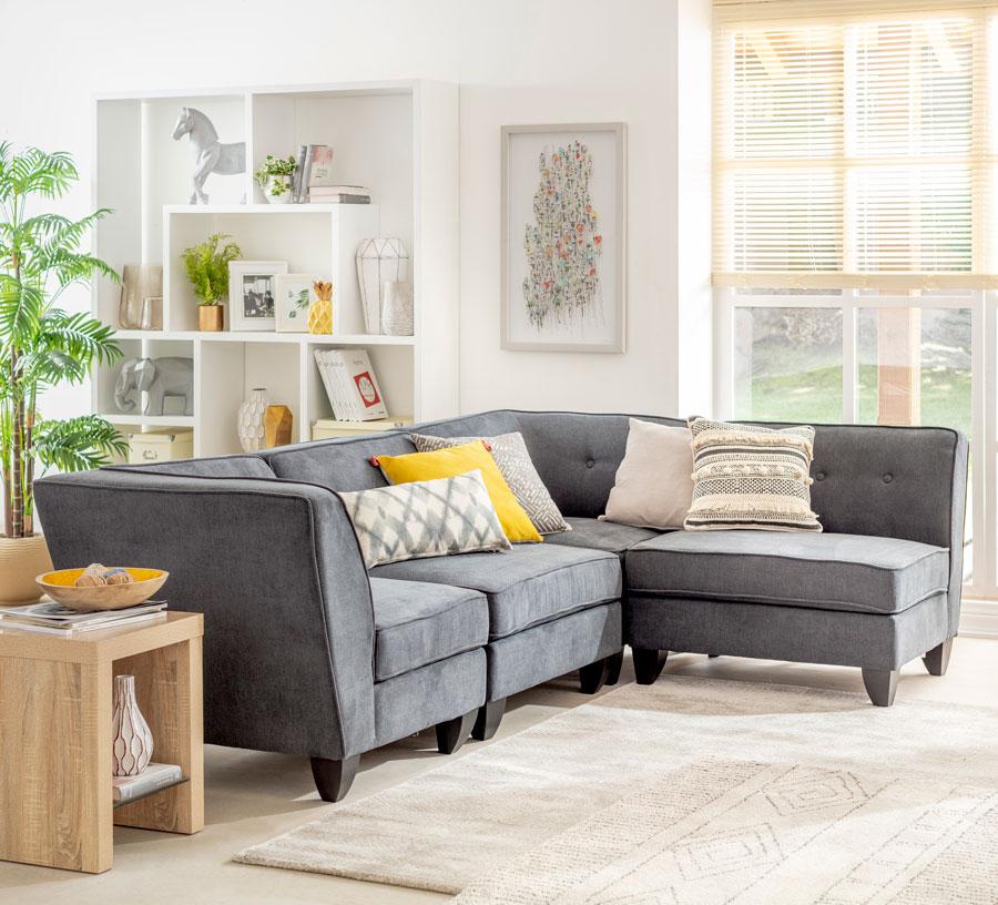 Guia para elegir sofas: seccional