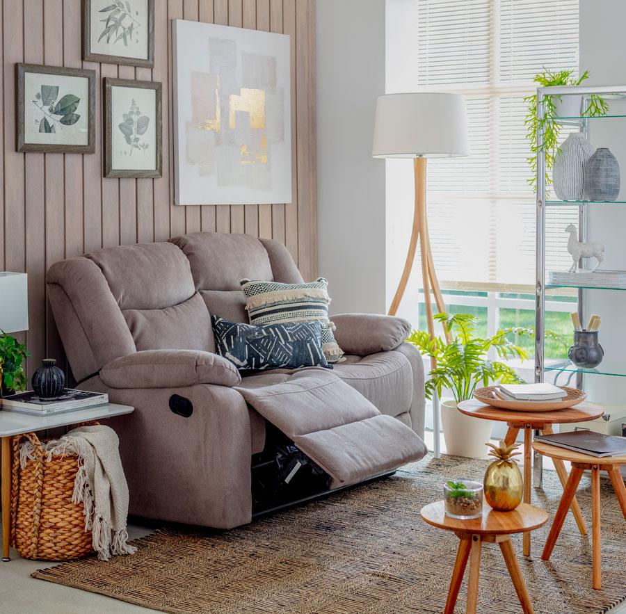 Guia para elegir sofas reclinables