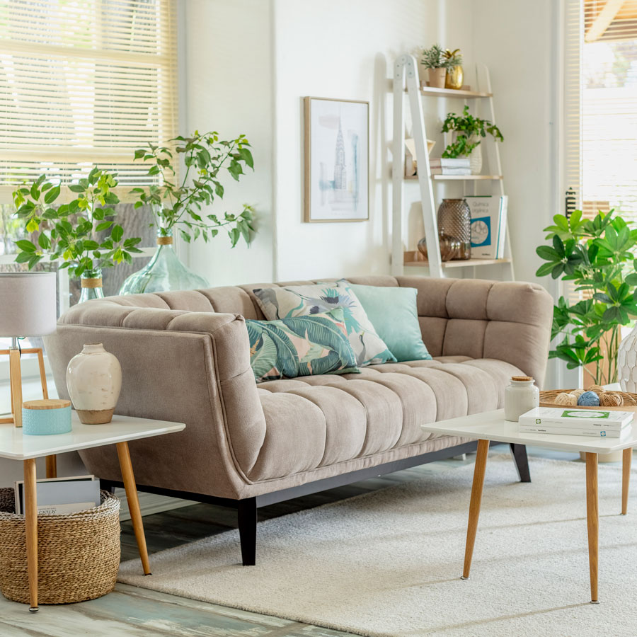 Guía para elegir sofá color neutro