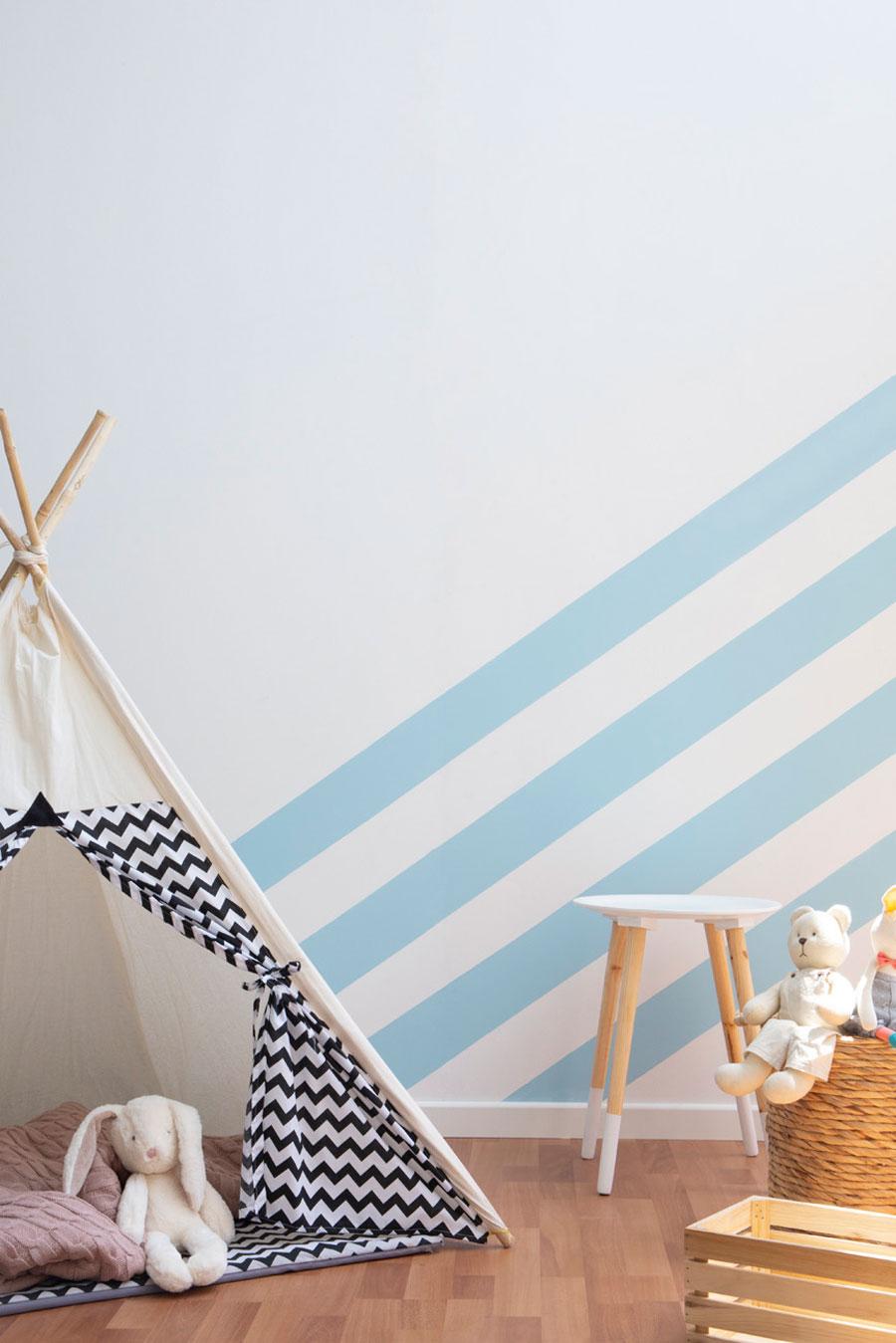 Renovar con poco presupuesto: pintar dormitorio ninos