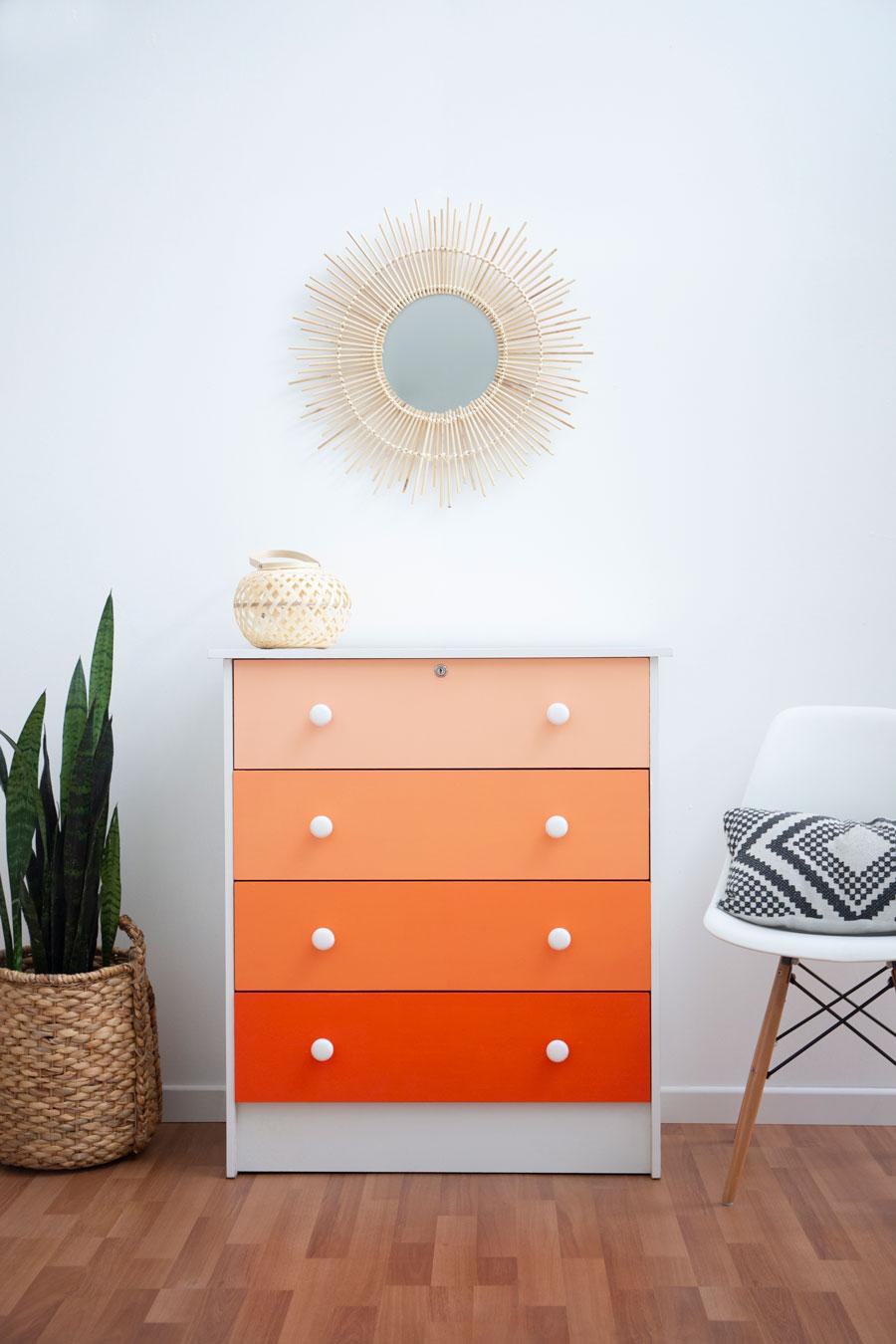 Renovar con poco presupuesto: pinta muebles