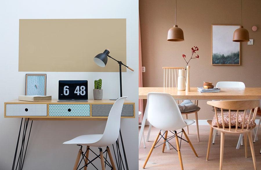 pintura decoración - tonos beige
