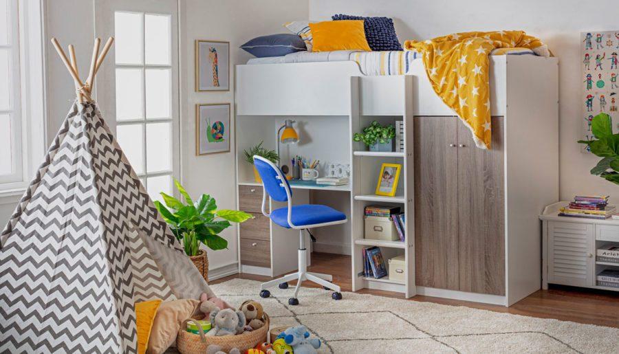Ideas de decoración para el dormitorio de los niños ¡sin gastar de más!