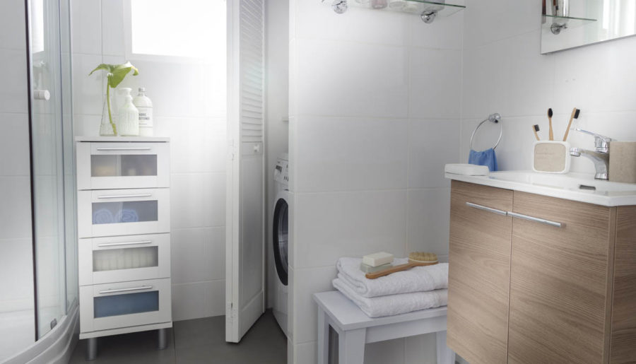 12 ideas para decorar baños pequeños