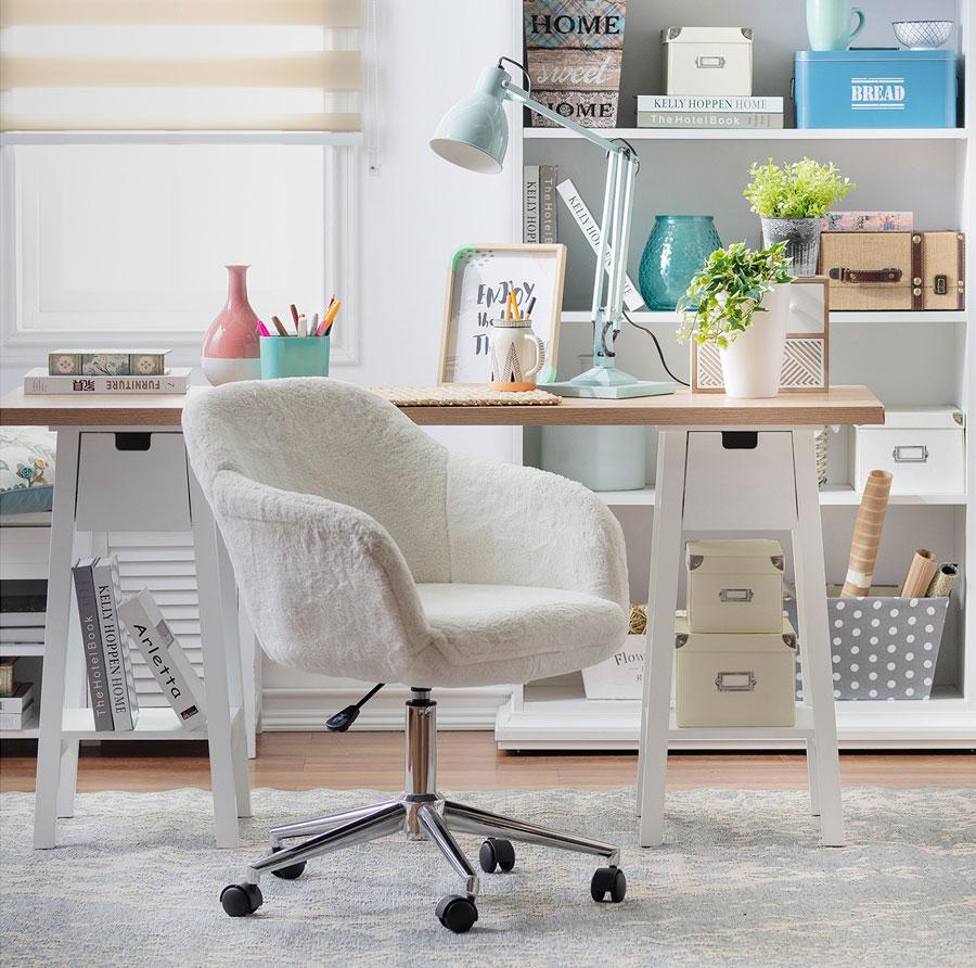 silla de escritorio tipo sitial con ruedas