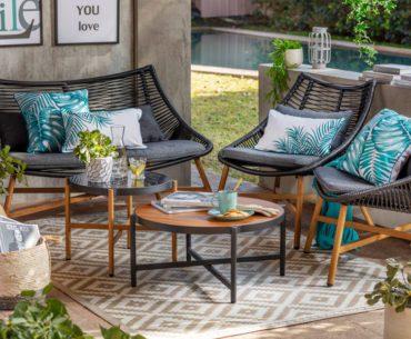 ¡Mezcla y combina! 9 duplas top para muebles de terraza
