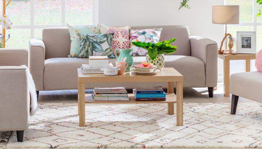 Cómo elegir la mesa de centro perfecta para el living