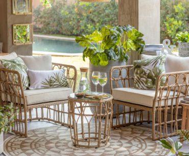 ¿Balcón, jardín o patio? Muebles para terraza de lo mini a lo maxi