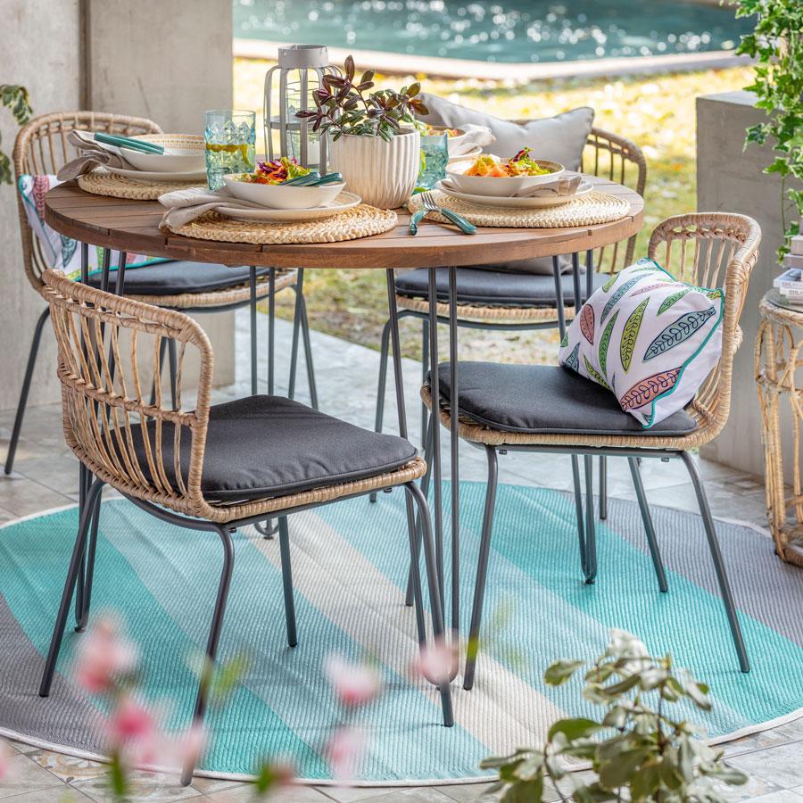 Tendencias en terraza: alfombras vinilicas
