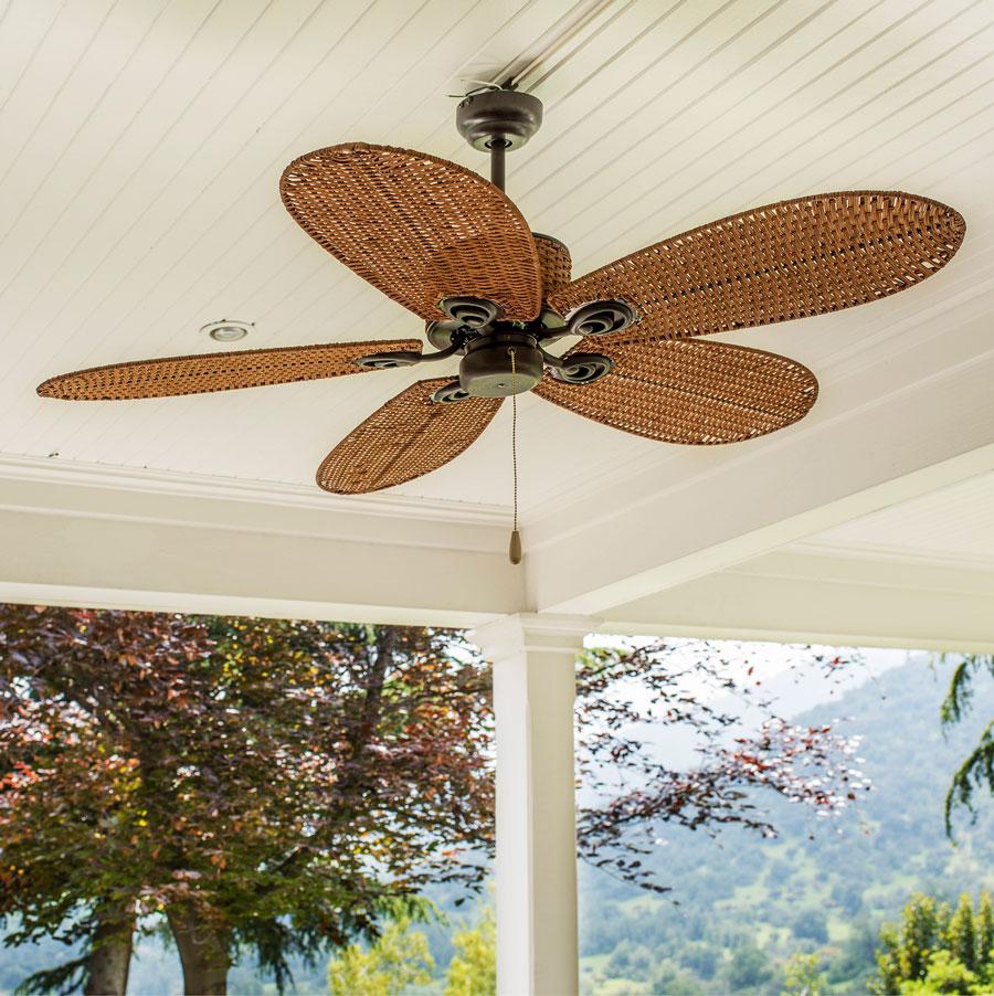 Terrazas mas frescas con ventiladores
