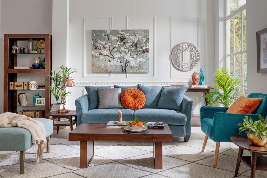 Medidas ideales para colocar muebles y decoración en casa: los sofas y futones