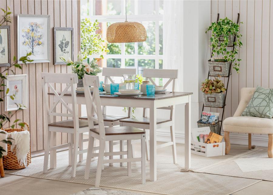 Medidas ideales para colocar muebles y decoración en casa: muebles de comedor