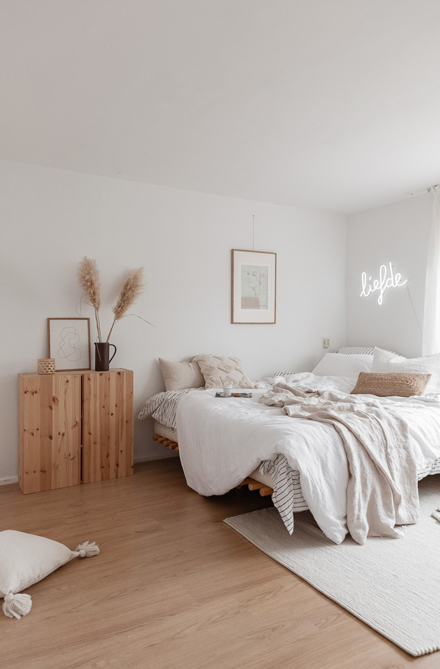 decoración en blanco de elle interieur