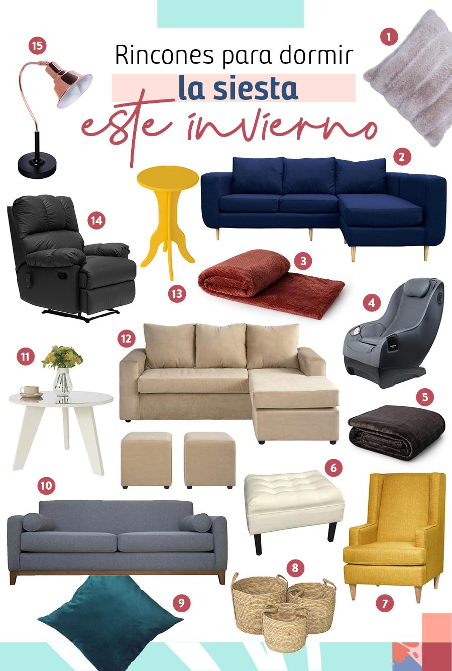 Muchos productos que te servirán a la hora de dormir la siesta ¡perfecta!