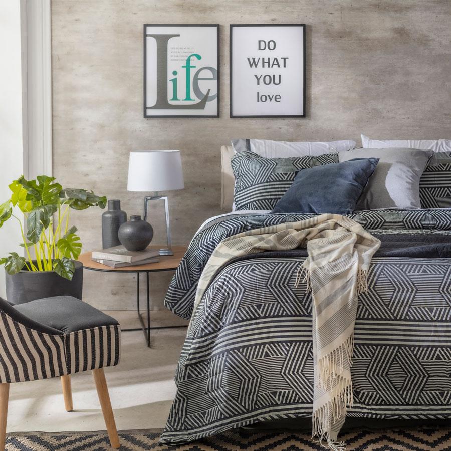 Combinación de veladores según el estilo de la cama
