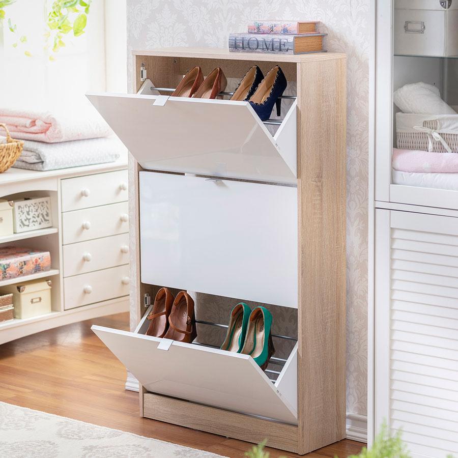 Una excelente opción para mantener en orden tus zapatos.