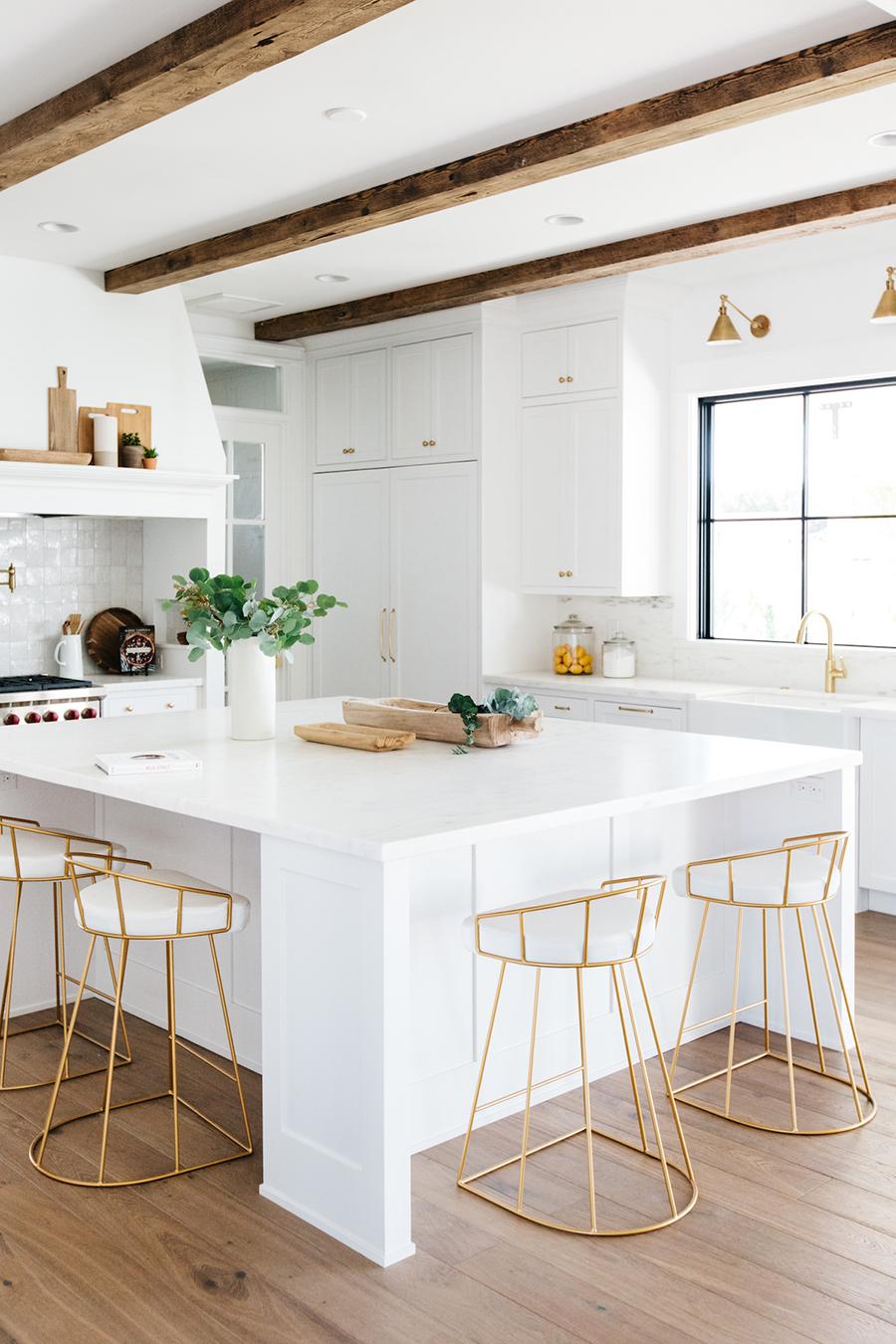Una cocina abierta puede servir para realizar distintas tareas.
