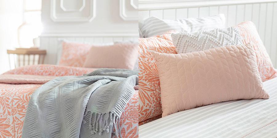 La combinación del color gris y rosado está full tendencia para primavera.