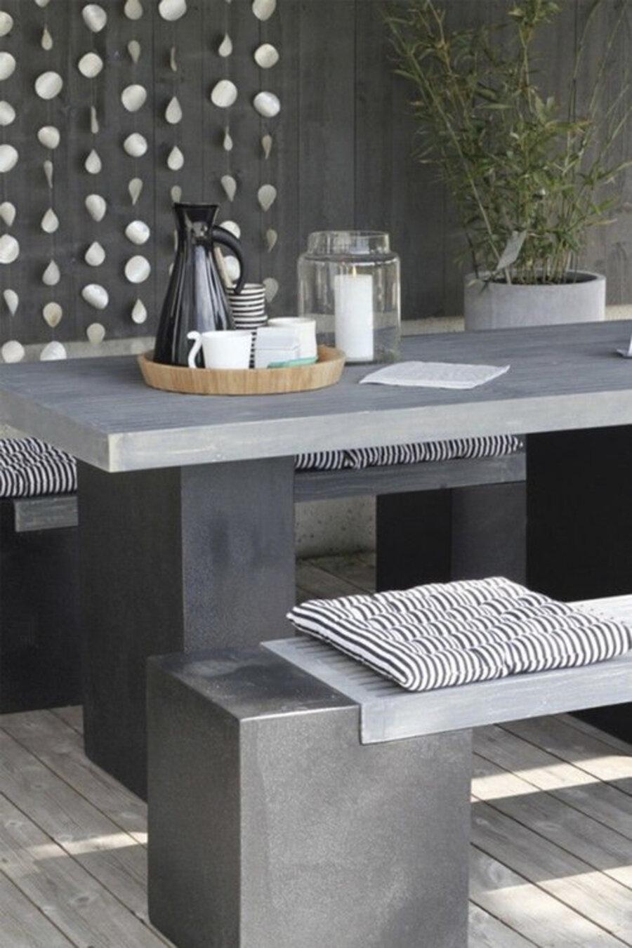 """Los muebles de hormigón combinan muy bien con el estilo """"raw""""."""