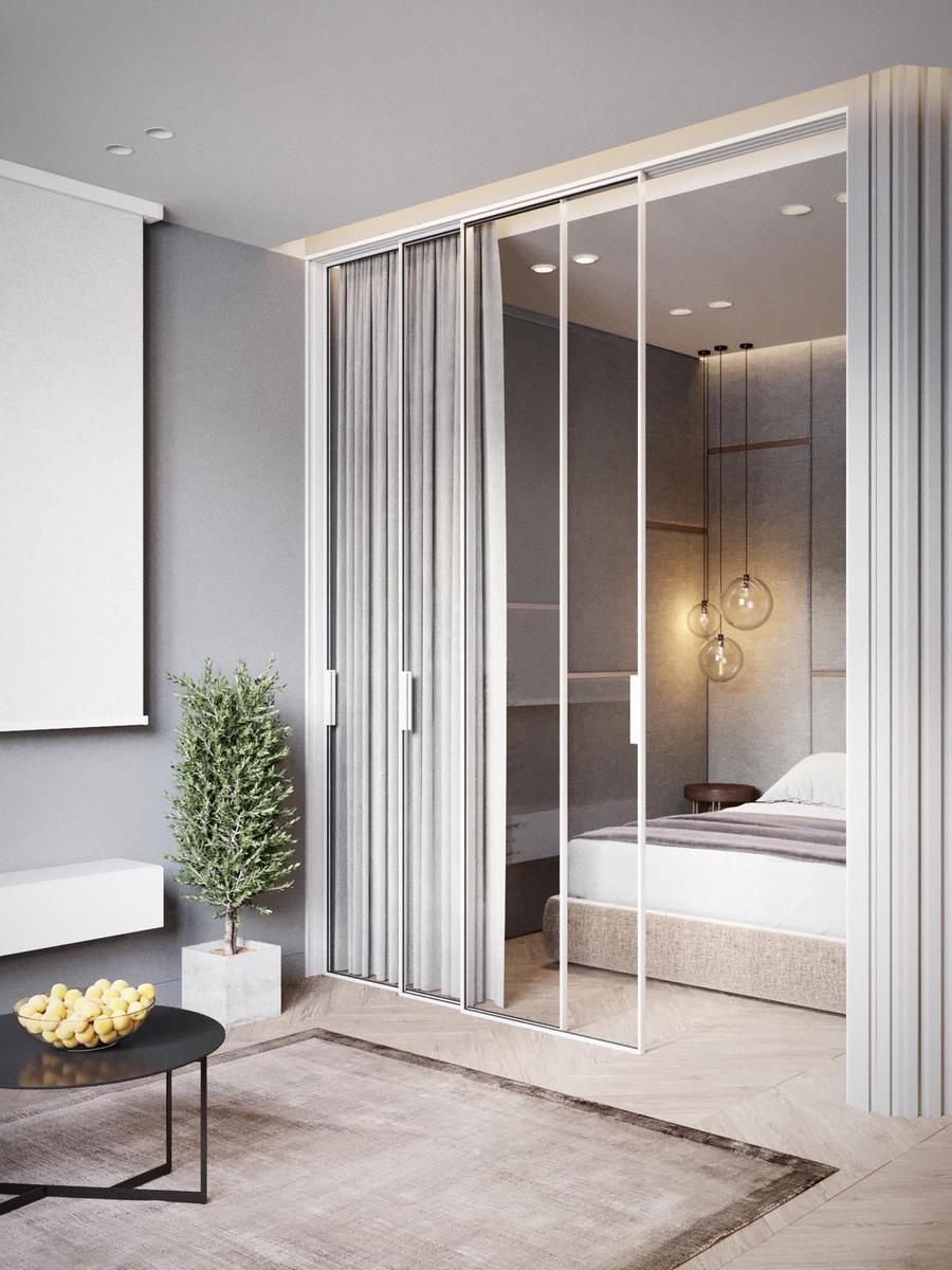 Los cerramientos, acompañados de cortinas, pueden dar privacidad y al mismo tiempo mucha luz.