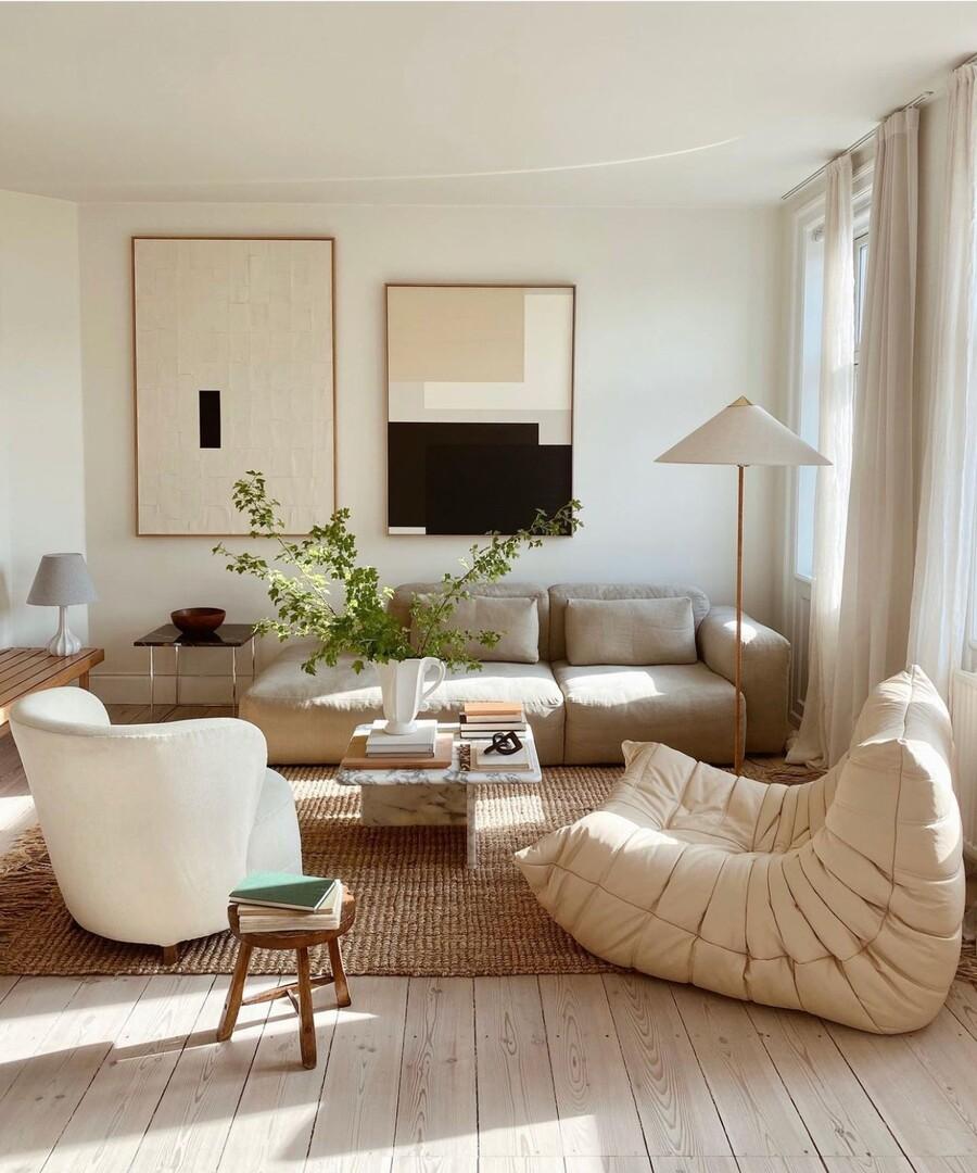 Los muebles con líneas redondeadas, o estilo curvy, están de moda.